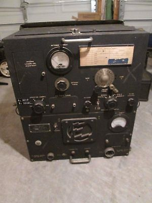BC-699 Military Radio Transmitter WW2 Jeep For Parts Or Repair
