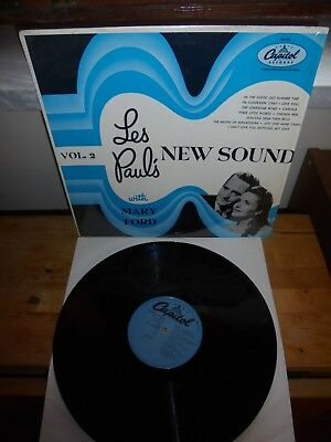 """Les Paul & Mary Ford """"Les Paul's New Sound Vol. 2"""" LP  Capitol Records USA"""