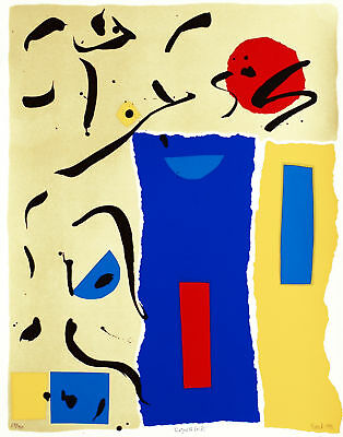 Susan Fateh, Prague III (Red), Colour Lithograph, Handsigned, numbered, titled,