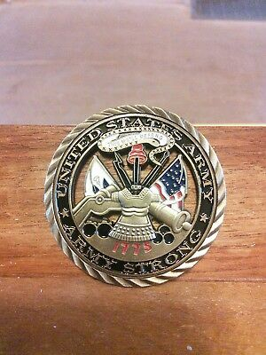 Us Army-Army Strong-Challenge Coin-Free Shipping