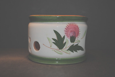 Stangl Candle Warmer Thistle
