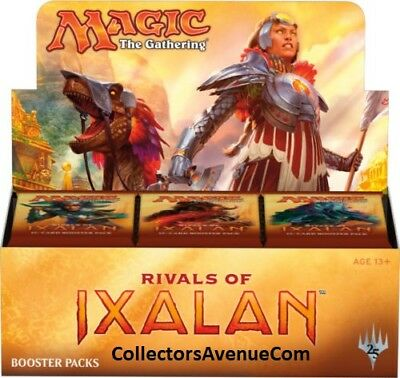 RIVALS OF IXALAN - Booster Box MTG MAGIC - SEALED English - CollectorsAvenueCom
