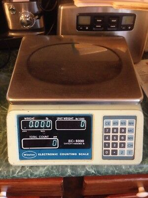 Winslow Commercial Electronic Digital Counting Scale 10 x 0.002lb Model EC-5000