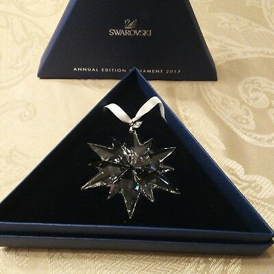 Swarovski Crystal 2017 ANNUAL EDITION CHRISTMAS ORNAMENT 5257589
