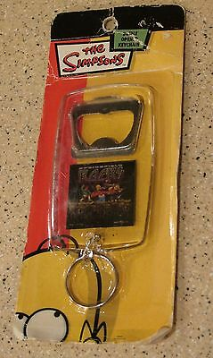 The Simpsons bottle opener keychain Beer Bar Springfield ROCKS New Homer