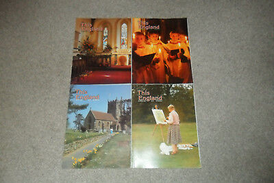 All 4 THIS ENGLAND Magazines From 1989