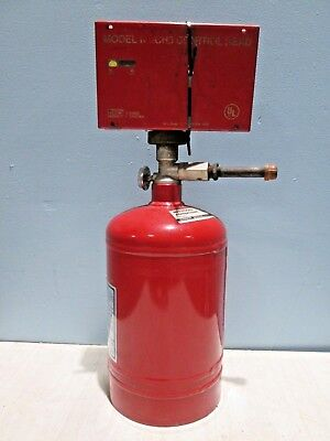 """""""KITCHEN KNIGHT II"""" H.D. COMMERCIAL FIRE SUPPRESSION CHEM TANK w/CONTROLLER"""