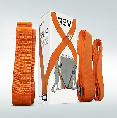 VViViD Shoulder Dolly 2-Person Team Harness-Style Lifting & Moving Strap System