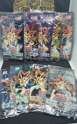 YuGiOh Yu-gi-oh OCG Out of Print Japanese Booster Packs Series 3 2002-2004 ( 9 )