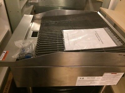"""24"""" Char Broiler Radiant 2 GRILL COMMERCIAL RESTAURANT HEAVY DUTY NAT LP GAS NEW"""