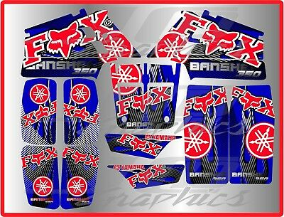 Yamaha banshee full graphics kit  ..