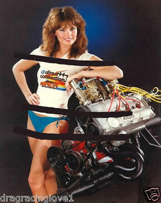 "Mopars ""Miss Direct Connection"" 1982 ""Natalie"" & DOHC HEMI Engine PHOTO!"