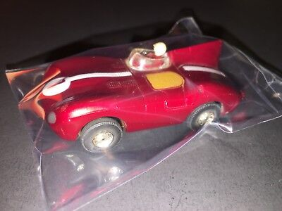 SCARCE Vintage Early TYCO HO Slot Car #1 Candy Apple Red Speed Racer STUNNING