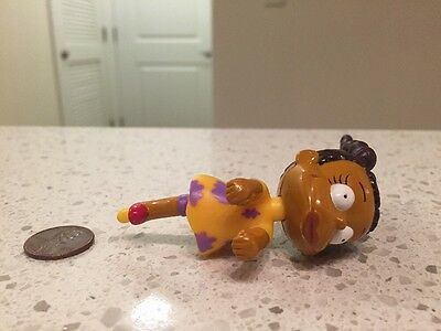 """RUGRATS Burger King Susie's Scooter Toy ~ Figure Only 3"""" African American Girl"""