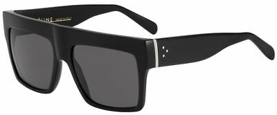 Celine CL 41756/S ZZ-TOP black/grey polarized (807/3H) Kim Kardashian Sunglasses