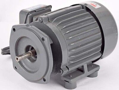 CZ 1/2HP 3480RPM Dual-Pole Single-Phase 60-Cycle TEFC Fan-Cooled Electric Motor