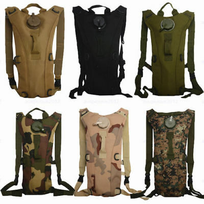 3L Hydration Water Bag Pouch Backpack Bladder Climbing Hiking Camelbak Pack