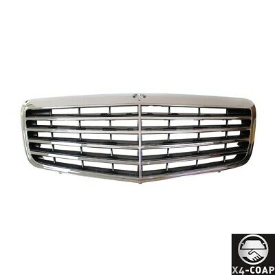 New Front Grille For Mercedes-Benz E550,E350 GRAY