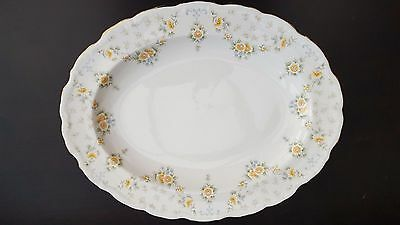 "Royal Albert ""Bronte"" 13.5"" SERVING PLATTER, MEAT CHARGER  - excellent"