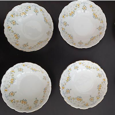 "Royal Albert ""Bronte"" FRUIT, DESSERT BOWLS X 4"