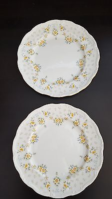 "Royal Albert ""Bronte"" 10"" DINNER PLATES x 2"