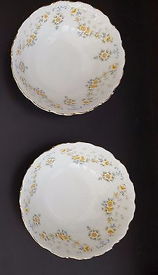 "Royal Albert ""Bronte"" FRUIT, DESSERT BOWLS X 2"