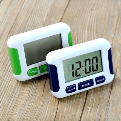 Digital Kitchen Timer Count Down Up Clock Alarm Magnetic Tools