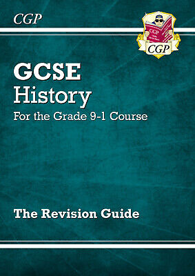 New GCSE History Revision Guide - For the Grade 9-1 Course by CGP Books...