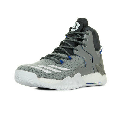 Chaussures adidas homme D Rose 7 Basketball taille Gris Grise Textile Lacets