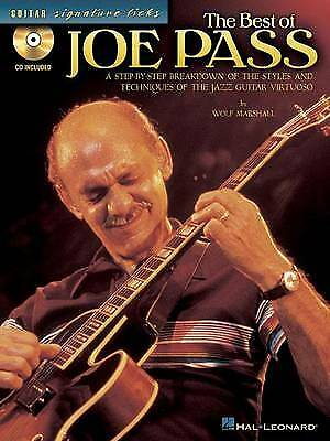 The Best of Joe Pass [With CD (Audio)] (Guitar Signature Licks),PB,Wolf Marshal