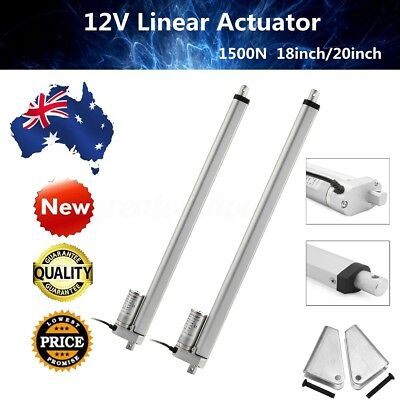 12V Linear Actuator Electric Motor 1500N Max Load Opener Heavy Duty Lifting AU