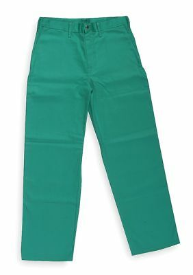 "Condor Green Pants, Flame-Retardant, Fits Waist Size: 38"", 32"" Inseam - 6NB90"