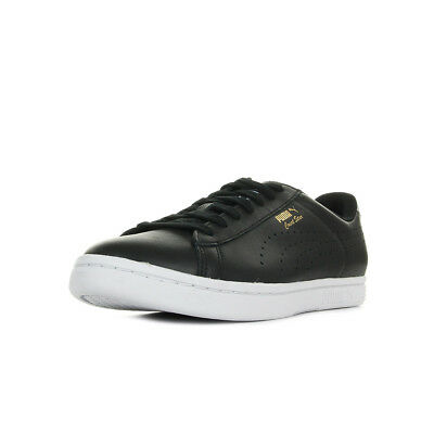 Baskets Lacets Homme Crafted Star Court Taille Chaussures Cuir Puma Noire Noir rxoeBdC