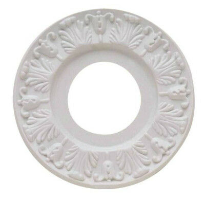 """Westinghouse 7702700 Victorian White Ceiling Medallion, 10"""""""