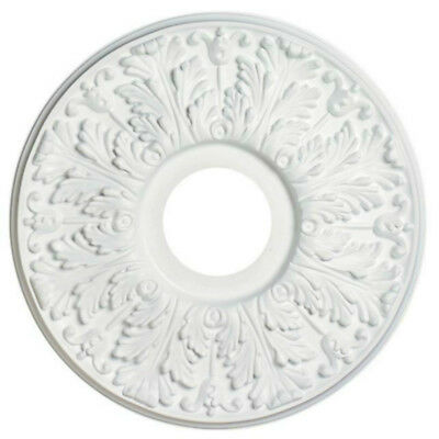 """Westinghouse 77028 Victorian Molded Decorative Ceiling Medallion, 16"""", White"""