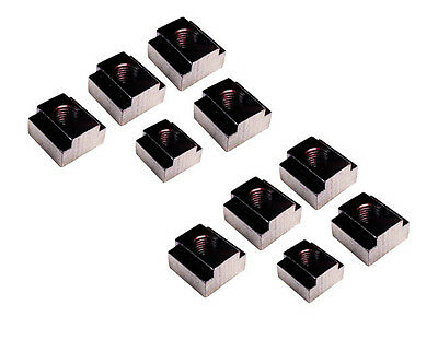 LOT OF 10 Only @SF BLACK OXIDE FINISH TEE NUT M16 TO SUIT 18 MM SLOT