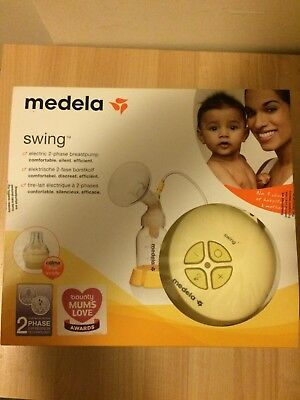 Medela Swing Single Electric Breast Pump with 2 Phase Calma Technology