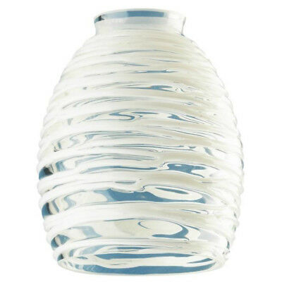 4 ea westinghouse 81314 4 34 ceiling fan replacement glass shade westinghouse 81314 fanlight fixture glass shade clear w white rope 2 aloadofball Image collections