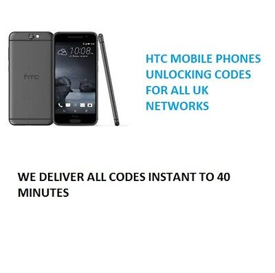 Unlock Code Sim Network For HTC One M9 A9 M8 HTC 10 Tesco o2 Vodafone EE instant