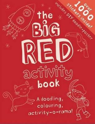 The Red Green Activity Book (My Big Activity Book) by Gemma Cooper   Paperback B