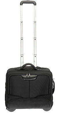 Trolley DERMATA BUSINESS XL Pilotentrolley Laptoptrolley Trolly 3456 SCHWARZ (R)