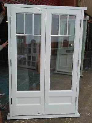 Wooden French Door !!!Astragal Bars Style!!! Made To Measure!!!Bespoke!!!