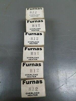 Furnas, H-12, Overload ☆ LOT OF 6 NEW SURPLUS FREE SHIPPING☆