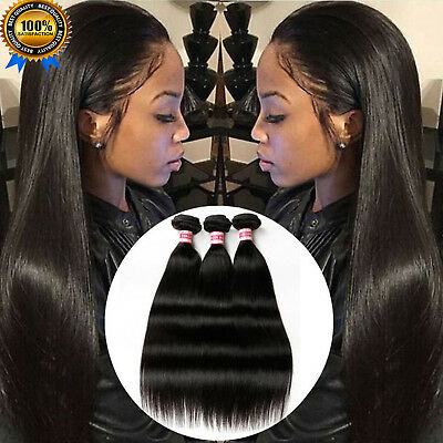 La Poste Extension Tissage Cheveux Humains Bresilien 100% Naturel Remy Hair