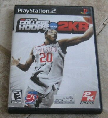 College Hoops 2K8 (Sony PlayStation 2, 2007) PS2
