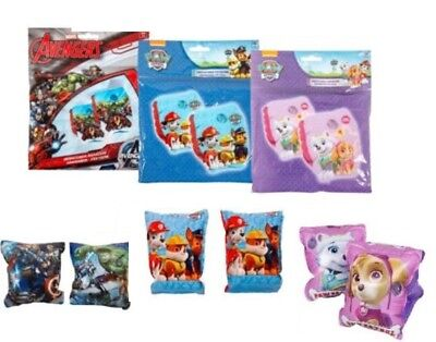 Kids Childrens Licensed Boys Girls Inflatable Armbands Swimming Aids 3-6 Years