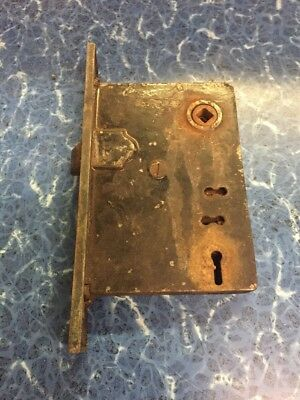 "Vintage Cast Iron Door Latch 5""x3 1/2"""