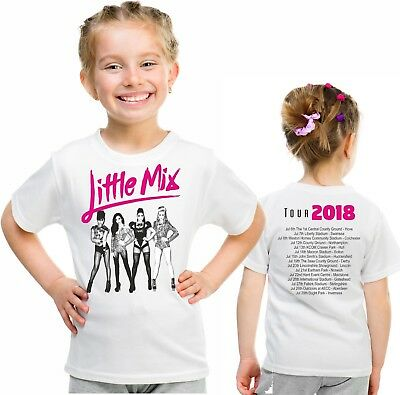 Little Mix tour t shirt 2018 summer hits tour children's top birthday gift 20