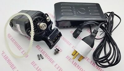SEWING MACHINE ELECTRIC 220v 180w MOTOR WITH CONTROLLER FREE BELT+2 CARBON+SCREW
