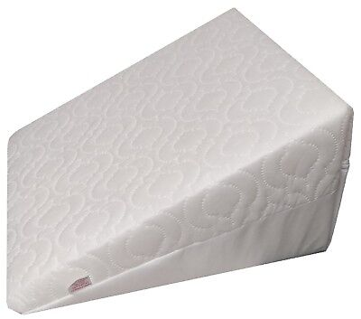 DURAFOAM Bolster Bed Wedge Pillow with Quilted Removable Cover